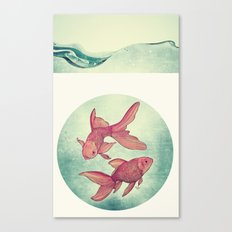 Goldfishes Canvas Print