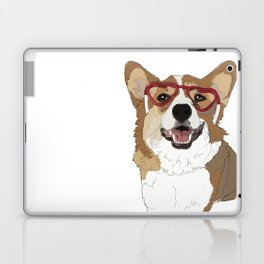 Happy Valentine's Day Corgi Laptop & iPad Skin