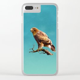 Booted Eagle Clear iPhone Case