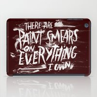 misfits iPad Cases featuring TV Casualty by Josh LaFayette