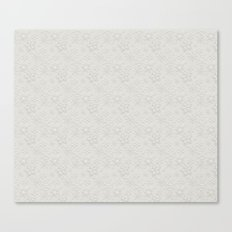Dancing Snowflakes Pattern Canvas Print