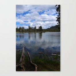 A Visit At Sprague Lake Canvas Print