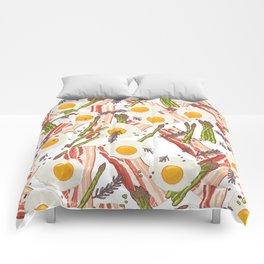 Breakfast pattern Comforters