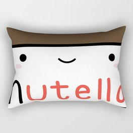 Nutella kawaii. Rectangular Pillow