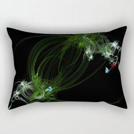 Fractal Jungle Vine Rectangular Pillow