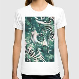 Tropical Jungle Leaves Siesta #2 #tropical #decor #art #society6 T-shirt