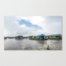 Chong Khneas Floating Village VII, Siem Reap, Cambodia Canvas Print