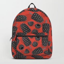 Blackberry and blackberry ice cteam pattern Backpack