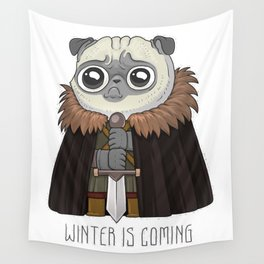 winter Is puging Wall Tapestry