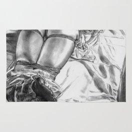 Japanese Rope Bondage. Teen Drawing and Illustration Rug