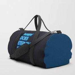 Neon - Eternity starts Duffle Bag