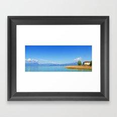 Lago Framed Art Print