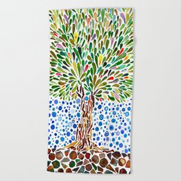 Treestory Beach Towel