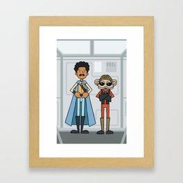 EP6 : Lando & Nien Nunb Framed Art Print