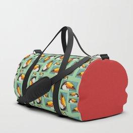 Colorful Toucan portrait Duffle Bag
