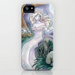 The Wild Rose iPhone Case