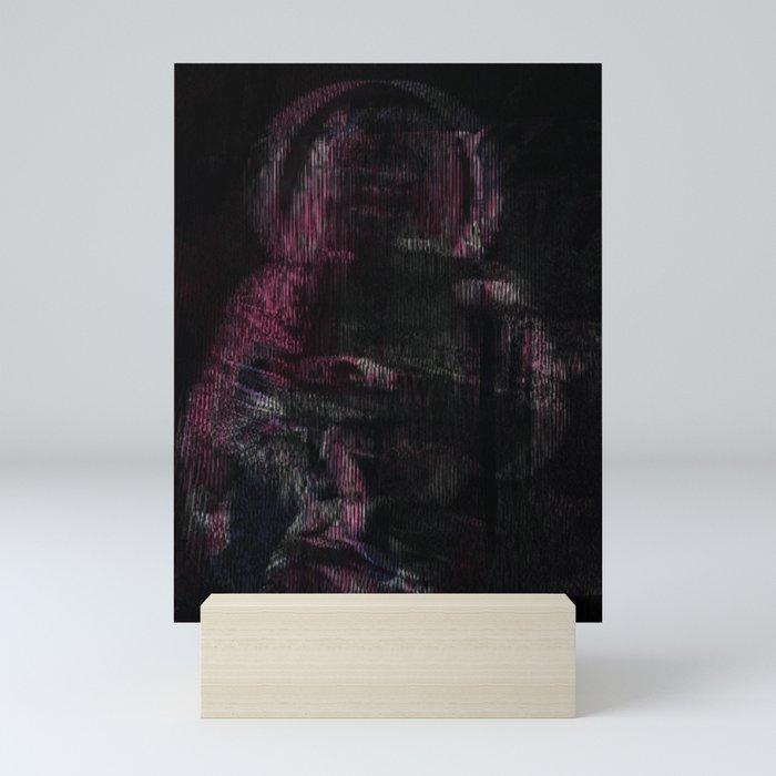 Mother (pink variant) Mini Art Print