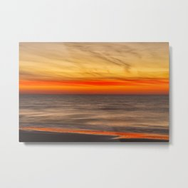 Edisto Beach Sunrise 07 Metal Print