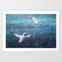 Cleared for Landing Art Print