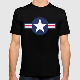 US Air-force plane roundel HQ image T-shirt