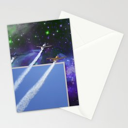 Beyond The Blue Yonder Stationery Cards