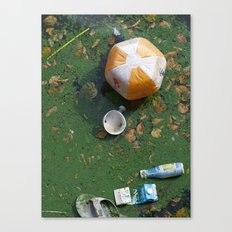 rubbish Canvas Print
