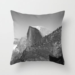 Winter Half Dome Throw Pillow
