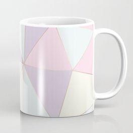 Pastel colors modern geometric triangles pattern Coffee Mug