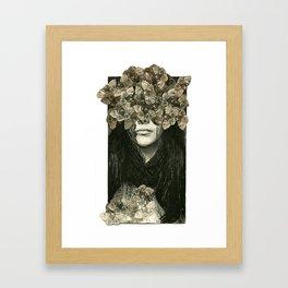 Head Case Framed Art Print