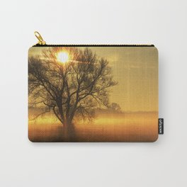 Autumn Dream with fog and sun Carry-All Pouch