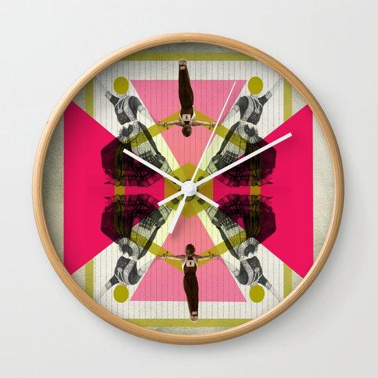 Bollywood geometrical gym Wall Clock
