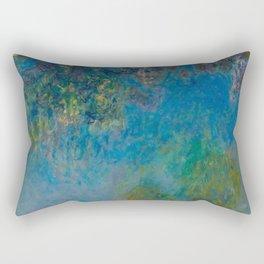 Claude Monet Wisteria Rectangular Pillow