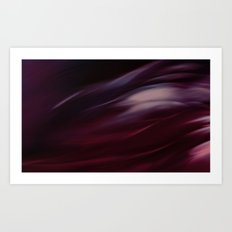 Storm in Red Art Print