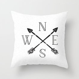 Never Eat Soggy Waffles Throw Pillow
