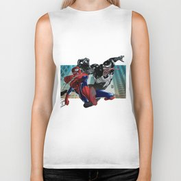 Spider-Man vs Venom Biker Tank