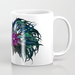 Green and Purple - White Coffee Mug
