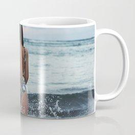 WOMAN - SEA - OCEAN - WATER - HAIR - BATHING - SUIT Coffee Mug