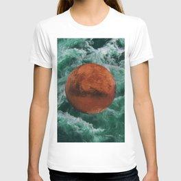 Mars has water T-shirt