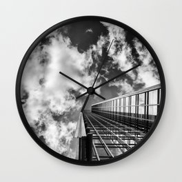 Straight to the Sky Wall Clock