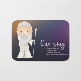 One ring Bath Mat