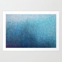 fabric Art Prints featuring Fabric by Anna Berthier