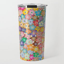 Cherry Blossom Flowers Travel Mug