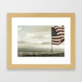 American City Framed Art Print