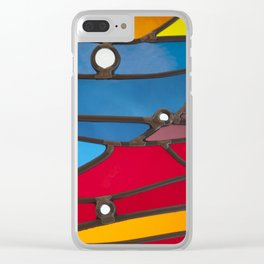 RAINBOW GLASS Clear iPhone Case