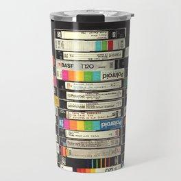 VHS Stack Travel Mug