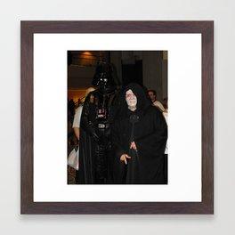 Darth and Sith Framed Art Print