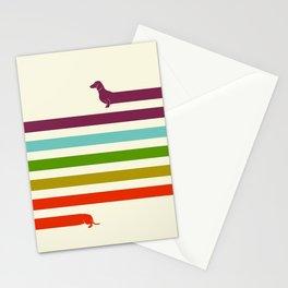 (Very) Long Dachshund Stationery Cards