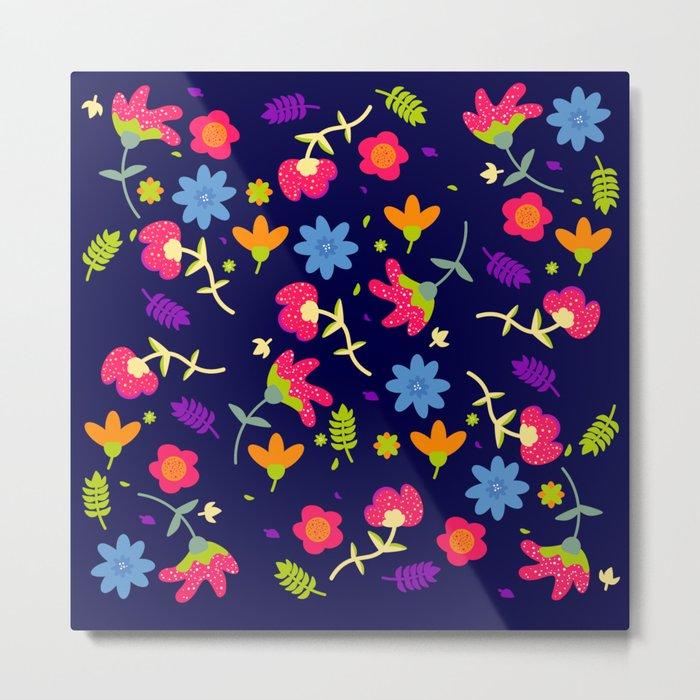 Spring Colours Metal Print