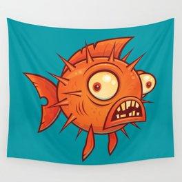 Pufferfish Wall Tapestry