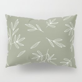 Olive in Olive Pillow Sham